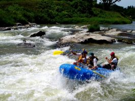 rafting marmore